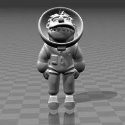 Free 3D printer model Barney Astronaut, FiveNights