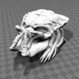 Free 3D print files Predator Head - Trophy, FiveNights