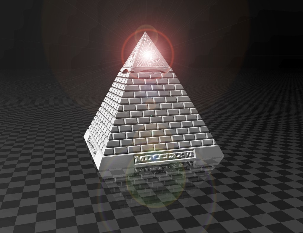 f19dc7215329e99a34eff1a1ab2e839e_display_large.jpg Télécharger fichier STL gratuit Eye of Providence - MDCCLXXVI (mini lampe LED) • Plan pour impression 3D, FiveNights