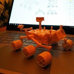 Download free STL files Curiosity Rover, FiveNights