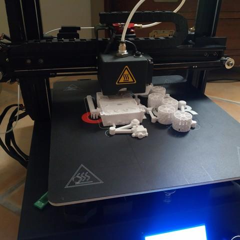 Free 3D printer model Mars Curiosity Rover (1/4 screw) camera micro stand, FiveNights
