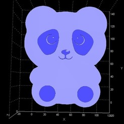 panda1.jpg Télécharger fichier STL Boîte/conteneur de stockage Panda • Plan à imprimer en 3D, Stevejawel