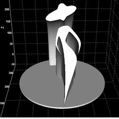 Descargar diseños 3D Silueta Mujer + Árbol de columpio Niño, Stevejawel