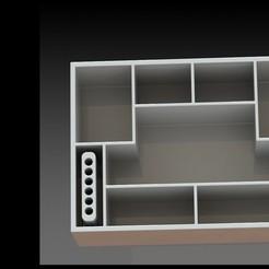 Impresiones 3D gratis Caja de herramientas divisora pequeña y grande, Stevejawel