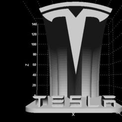Descargar archivo 3D gratis Signo de Tesla (logo gratuito), Stevejawel