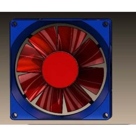 Download 3D printing models PC Fan, Stevejawel