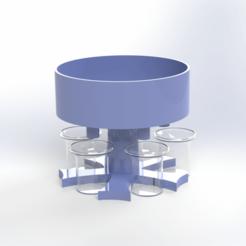 Untitled Project 41.png Télécharger fichier STL Gadget pour les boissons de fête • Plan à imprimer en 3D, Stevejawel