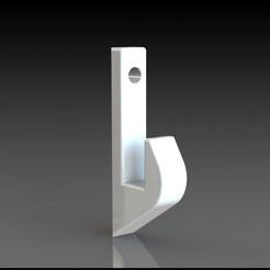 Descargar diseños 3D gratis Gancho de uso general de 60 mm de largo, Stevejawel