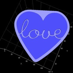 love.jpg Download STL file Love box/storage • 3D printer template, Stevejawel