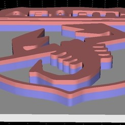 Descargar archivos 3D Insignia de Abarth / pantalla, Stevejawel