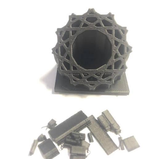 Descargar archivo 3D Emblema de patrón islámico, Stevejawel