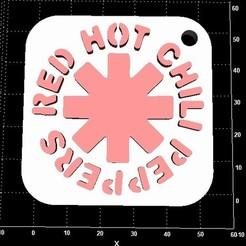Descargar modelo 3D gratis Colgador de Red Hot Chili Peppers, Stevejawel