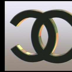 Descargar archivos STL gratis Logotipo de Chanel (CC), Stevejawel