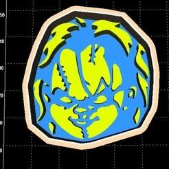chuck.jpg Download STL file Chucky Cookie cutter • Model to 3D print, Stevejawel