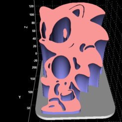 Download free STL file Sonic display • 3D printable object, Stevejawel