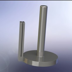 Descargar modelos 3D Sólido porta rollos de cocina + cortador en uno, Stevejawel