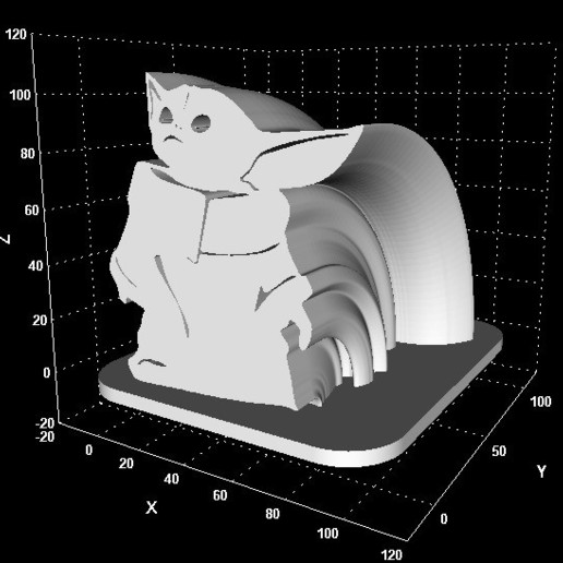 Download 3d Printer Templates Baby Yoda Signs Package Deal