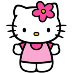 Télécharger objet 3D Mignon Bonjour kitty cookie cutter, Stevejawel