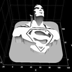 clarcl.jpg Télécharger fichier STL Logo de Superman Clark Kent • Design pour impression 3D, Stevejawel