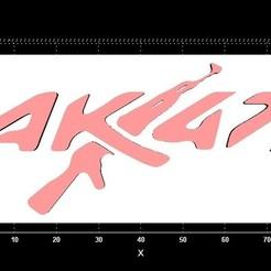 Imprimir en 3D Colgador de llaves AK47, Stevejawel