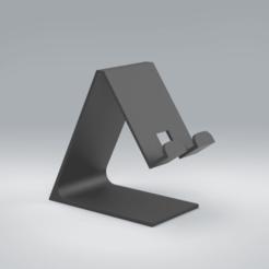 Untitled Project 54.png Download STL file Phone stand/holder • 3D printer model, Stevejawel