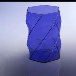 Télécharger fichier 3D Vase Low Polygon de 160mm de hauteur, Stevejawel