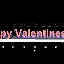 Valentine.jpg Download free STL file Happy Valentines Day • 3D printable template, Stevejawel