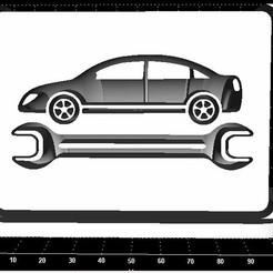 Descargar modelos 3D para imprimir Letrero de taller de reparación de automóviles, Stevejawel