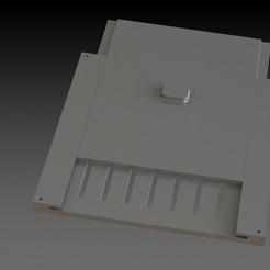 zolder.JPG Download STL file Air-flow regulator • 3D printing model, Stevejawel