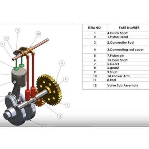 Descargar modelos 3D para imprimir Motor de cilindro, Stevejawel