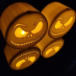 IMG_20200927_074802.jpg Download STL file Jack mask tealight • Object to 3D print, stevenbrouwers