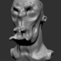 Descargar modelo 3D gratis Busto de monstruos, l3loodmen