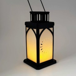 Download 3D printing templates Lantern, MadMonkey