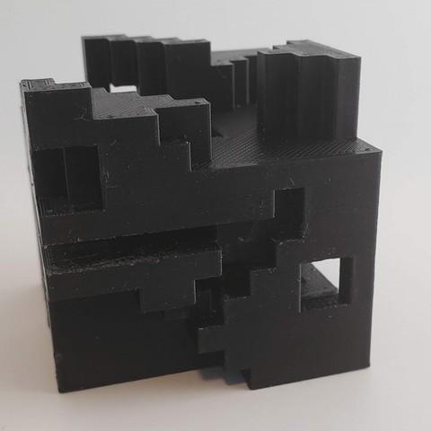Download free 3D printer designs Escher Cube, MadMonkey