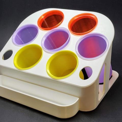 Download free 3D printer designs Desk Organizer: Tubes Edition , MadMonkey