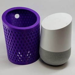 Download free STL file Google Home Cover, MadMonkey