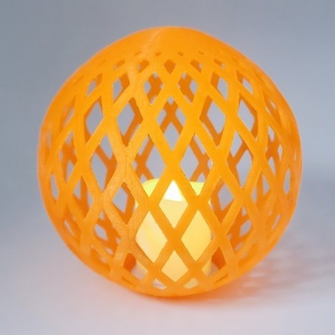 Download free 3D printing templates Woven Orb, MadMonkey