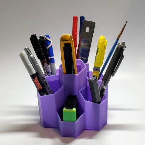 Fichier STL Pen Hex, MadMonkey