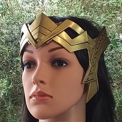 Free 3D printer files Hippolyta Crown - 3D Printed Thermoplastic, hterefenko