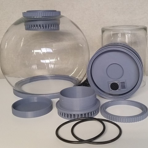 Descargar archivos 3D gratis Cámara de vapor de acetona, hterefenko