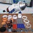 Descargar archivo 3D gratis SLS - Orion, Módulo de Servicio, ICPS - Versión 2, hterefenko