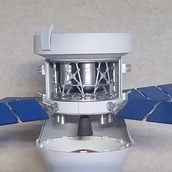 Free 3D printer model SLS - Service Module Interior, hterefenko