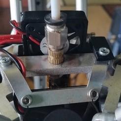 Free 3D printer designs Hatchbox Alpha 30mm Fan Holder, hterefenko