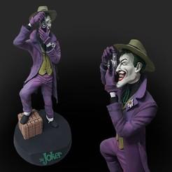 Download STL file Joker the killing joke • 3D print object, claudiolourencojr