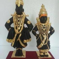 Descargar archivos STL Radha krishna, pbera42