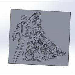 _dftèçr-.PNG Télécharger fichier STL couple • Plan pour impression 3D, t3p