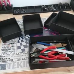 Descargar modelos 3D gratis Cajas para almacenar herramientas o piezas, Kurilos
