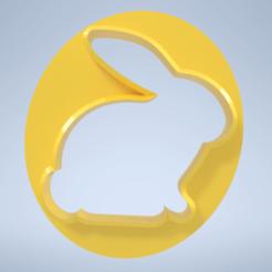 002 velikonoční vykrajovátko.png Télécharger fichier STL L'emporte-pièce de Pâques • Design pour impression 3D, danpumpa
