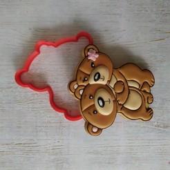 Download 3D printing files Bear Hugger, dianali