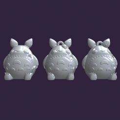 Download STL file Set My neighbor totoro, Ink3D